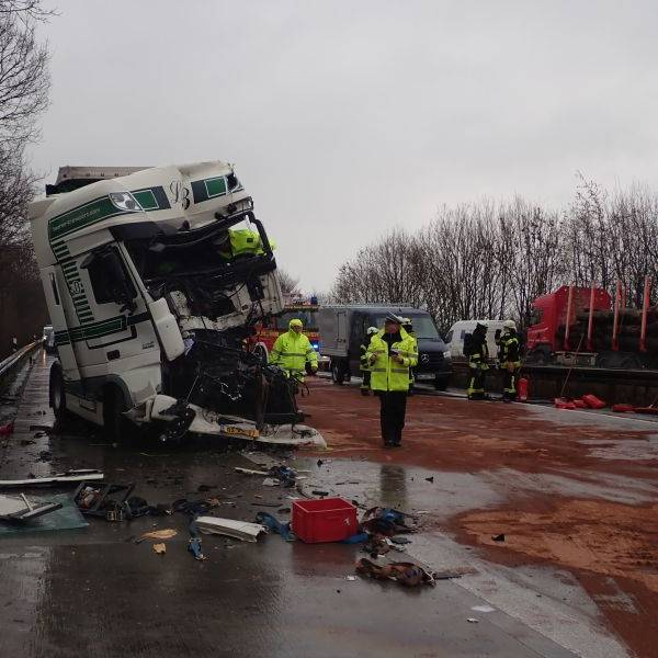 A44 Unfall Heute